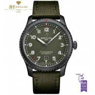 Breitling Aviator 8 '' Curtiss Warhawk '' DLC Coated Stainless Steel - ref M173152A1L1X1