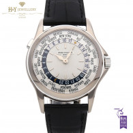 Patek Philippe World Time White Gold [ DISCONTINUED ] - ref 5110G-001