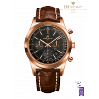 Breitling Transocean Chronograph Rose Gold - ref RB015212/BB16