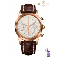Breitling Transocean Chronograph Rose Gold - ref RB015212/G738
