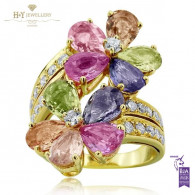 Bvlgari Ring From 'Sapphire Flower' Collection