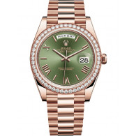 Rolex Day-Date Rose Gold with Factory Diamonds - ref 228345RBR