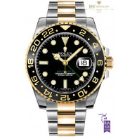 Rolex GMT Master II Gold and Steel ref 116713LN