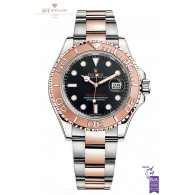 Rolex Yacht Master Rose gold and steel - ref 116621