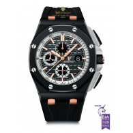 Audemars Piguet Royal Oak Offshore Chronograph ''Pride Of Germany'' Limited Edition of 300 Pieces Black Ceramic - ref 26415CE.OO.A002CA.01