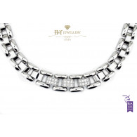 Chopard La Strada White Gold Necklace with Diamonds