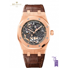 Audemars Piguet Royal Oak Skeleton Dial Rose Gold - 15305OR.OO.D088CR.01