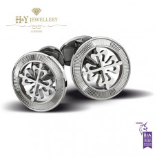 Patek Philippe Calatrava Cross Cufflinks White Gold - ref 205.9089