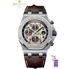 Audemars Piguet Royal Oak Offshore Chronograph 'Safari'  Steel [ DISCONTINUED ] - ref 26470ST.OO.A801CR.01