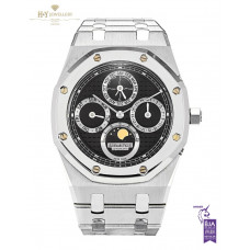 Audemars Piguet Royal Oak Perpetual Calendar Steel And Platinum - ref 25820SP.OO.0944SP.02
