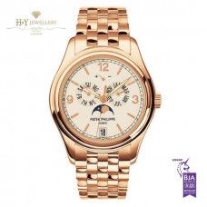 Patek Philippe Annual Calendar Moon Phases Rose Gold - ref 5146/1R-001