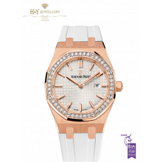 Audemars Piguet Royal Oak Quartz Rose Gold - ref 67651OR.ZZ.D010CA.01