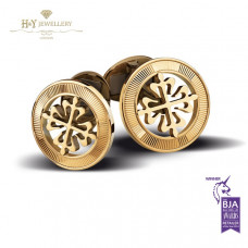 Patek Philippe Calatrava Cross Cufflinks Yellow Gold - ref 205.9089