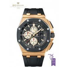 Audemars Piguet Royal Oak Offshore Chronograph Rose Gold - ref 26400RO.OO.A002CA.01