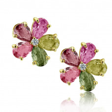 Bvlgari Earrings From 'Sapphire Flower' Collection