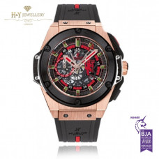 Hublot King Power Red Devil Manchester United Rose Gold - ref  716.OM.1129.RX.MAN11 - Price Inc VAT