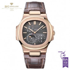 Patek Philippe Nautilus Moon Face Rose Gold - ref 5712/R-001
