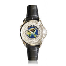 Patek Philippe World Time Cloisonne