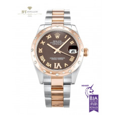 Rolex Date Just Rose Gold And Steel – ref 178341