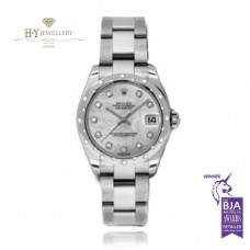 Rolex Date Just White Gold And Steel – ref 178344