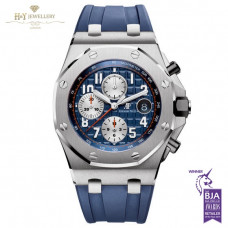 Audemars Piguet Royal Oak Offshore Chronograph Navy Model Steel - ref 26470ST.OO.A027CA.01