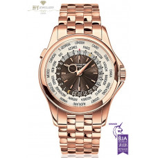 Patek Philippe World Time Full Rose Gold - ref 5130/1R-011